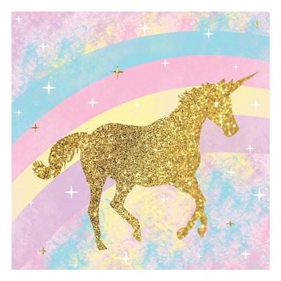 Unicorn 2 Art Print by Gibbons