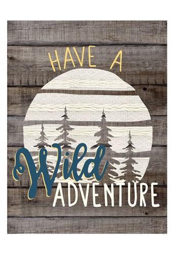 Wild Adventure 1 Art Print by Allen