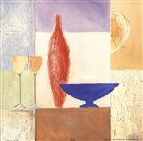 Vase Mosaic I Art Print