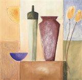 Vase Mosaic IV Art Print