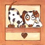 Puppy Love III Art Print