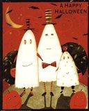 Happy Halloween Ghosts Art Print