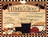 Mom's Diner Art Print