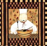 Kitchen Favorites: The Big Salad Art Print