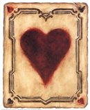 Card Suits - Hearts Art Print