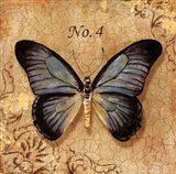 Clair's Butterfly I Art Print