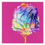 Painted Tree 2 Art Print