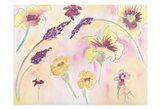 Graceful Blossoms Art Print