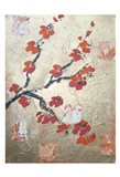 Metallic Breeze 1 Art Print