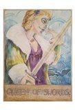 Queen Of Swords Art Print