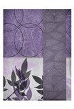 Vibrant Purple Leaf 1 Art Print