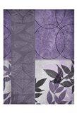 Vibrant Purple Leaf 2 Art Print