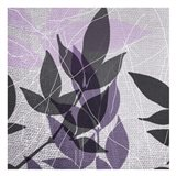 Vibrant Purple Leaf 3 Art Print