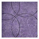 Vibrant Purple Square 4 Art Print