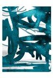 Blue Cynthia 2 Art Print