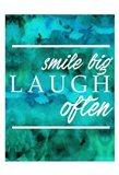 Laugh Often Art Print