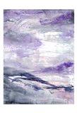 Purple Wind 1 Art Print