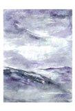 Purple Wind 2 Art Print