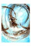 Blue Blowout Art Print
