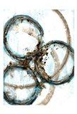 Blue Blowout 3 Art Print
