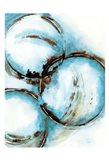 Blue Blowout 5 Art Print