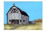 Relaxing Barn Art Print