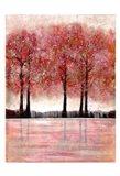 Forest Heat 1 Art Print