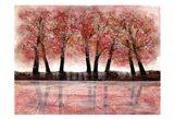 Forest Heat 2 Art Print