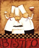 3 Chefs Wine Bistro 2 Art Print