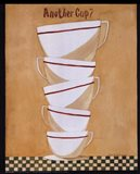 Another cup? Art Print