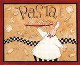 Pasta Chef Art Print