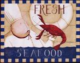Fresh Seafood Art Print
