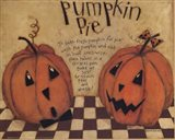 Pumpkin Pie Art Print