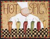 Hot & Spicey Art Print