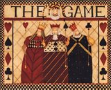 The Game Art Print