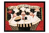 Cafe Bistro Bakery Art Print