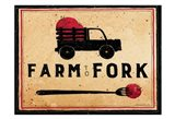 Farm To Fork Art Print