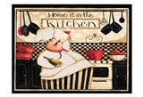 Home Is In The Kitchen Art Print