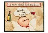 Drink More Wine Art Print
