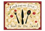 Cooking With Love Art Print