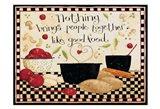 Good Food Art Print