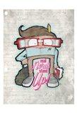Real Nerds Art Print