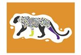 Fun Leopard Art Print