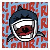 Rahr! Shark Art Print