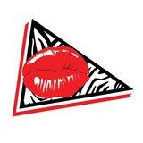 Abstract Lip Mate Art Print