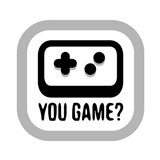 You Game Art Print