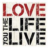 Love Live Art Print