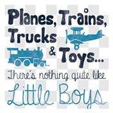 Little Boys Art Print