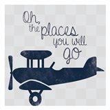 Air Plane Go Art Print