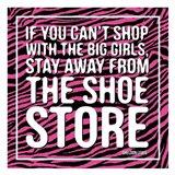 Shoe Store Art Print